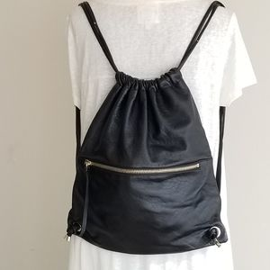 Vince Camuto Leather Rucksack